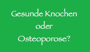 Gesunde Knochen oder Osteoporose? | Köln