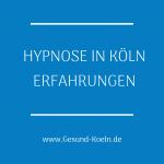 Erfahrungsbericht Hypnose