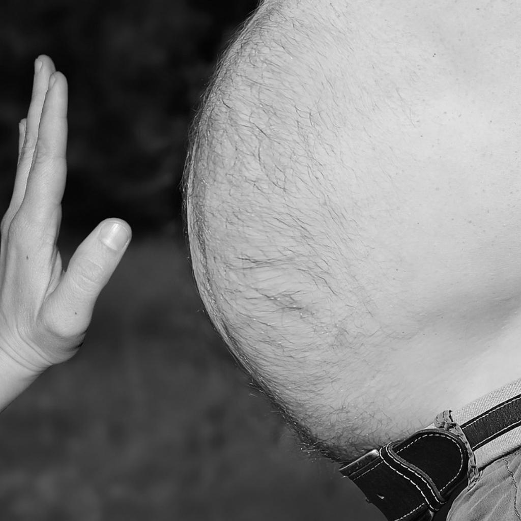 Wenn mehr Bauch als Brust da ist