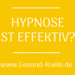 Hypnose ist effektiv?